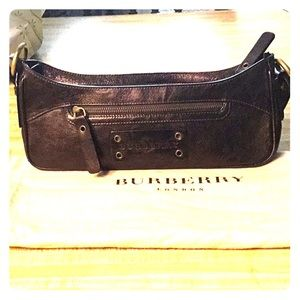 Burberry Copper Brown Leather bag